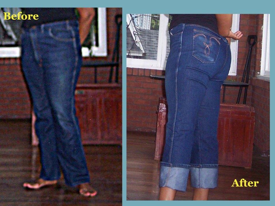 Jeans  refashion july 10