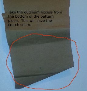 back outseam adjustment, a right way